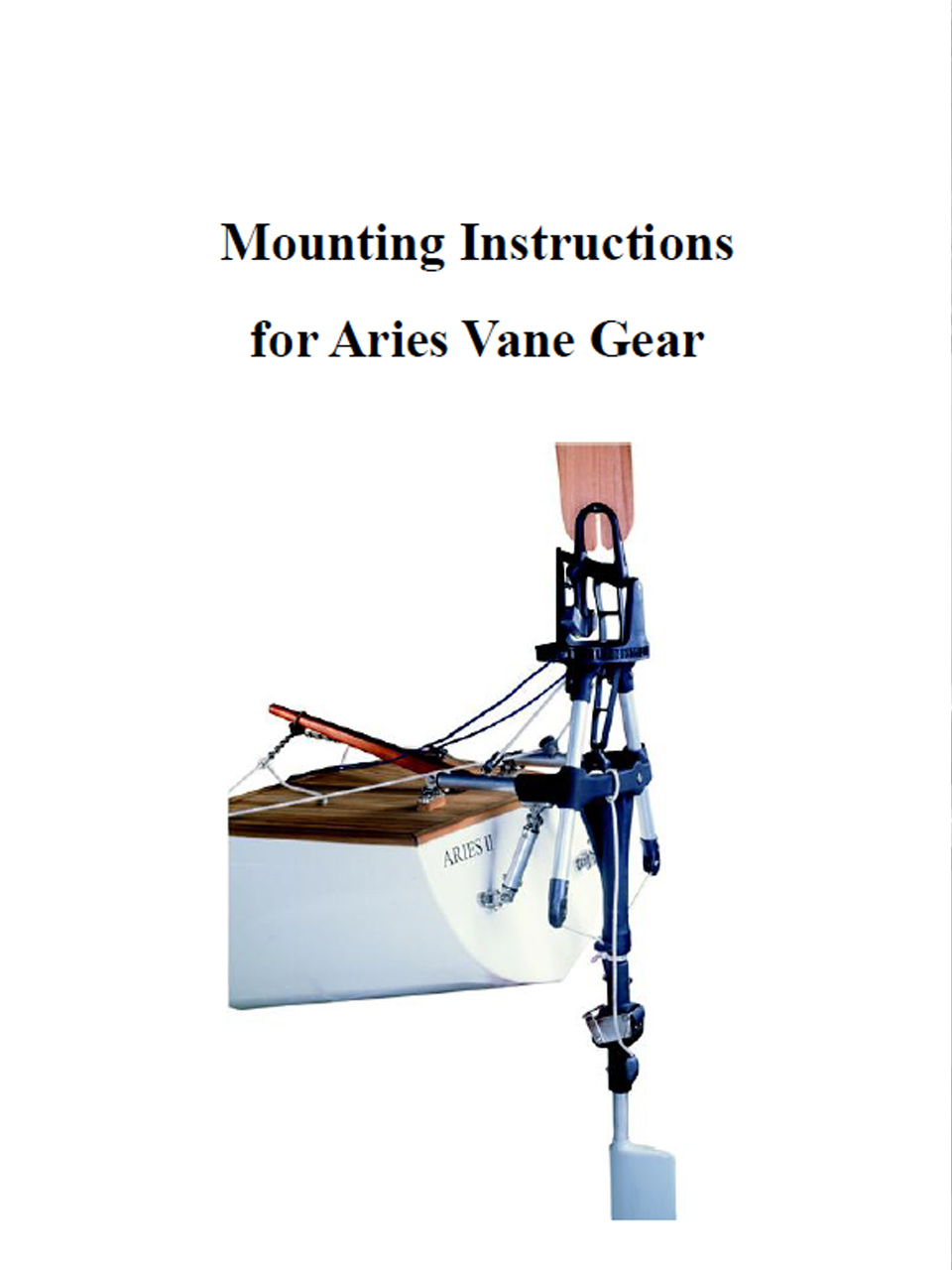 Aries Mounting Instructions